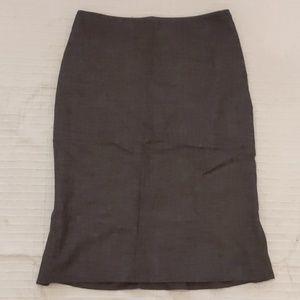 Ellen Tracy Wool Suit Skirt sz 2